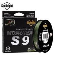 SeaKnight Monster S9 300M 30 100LB PE Multifilament Fishing Line 9 Strand Weaves S Spiral Super