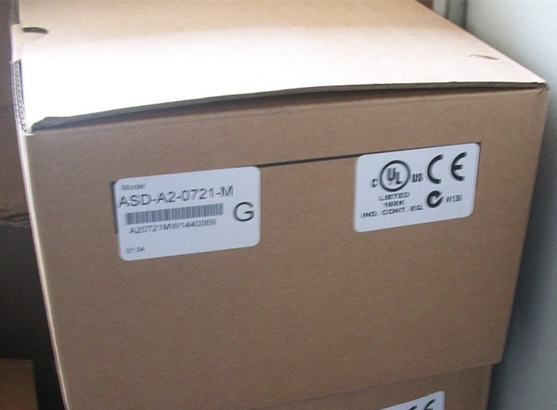ECMA-C10807RS+ASD-A2-0721-M DELTA CANopen AC servo motor driver kits 0.75kw 3000rpm 2.39Nm 80mm frame sgmjv 08ade6s sigma 5 ac servo motor 750w 3000rpm 2 39n m 80mm frame ac200v 20 bit incremental encoder