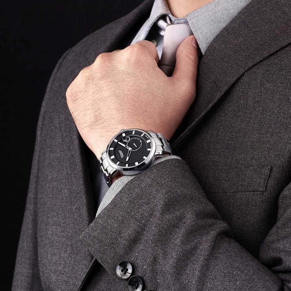 RUIMAS Luxury Quartz Ерлерге арналған Watch Relogio - Ерлердің сағаттары - фото 4
