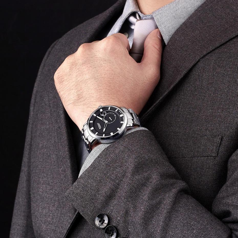 RUIMAS Luxury Quartz Men Watch Relogio Masculino Topp Märke Fashion - Herrklockor - Foto 4