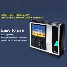 A7 4.3-Inch TFT Color Screen Fingerprint Recorder Free-software Roll Machine Space-saving Employee Attendance Machine