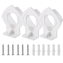 Wall Mount Bracket Stand Holder for Linksys Velop Tri band Whole Home WiFi Mesh System, White 3 Pack