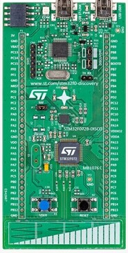 Free Shipping    STM32F072B-DISCO Original Development Board Evaluation Board With Capacitive Touch ST-LINK/V2