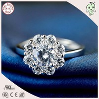 Very Beautiful Flower Design 925 Sterling Silver Ring For Woman