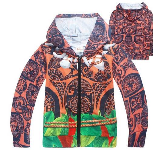 Kid Jacket Girls Outwear Hoodies Zipper Boys Children Cartoon for Sweatshirt Costume