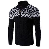 2017 New Brand Men Sweater Autumn Winter Kintwear Pullover Christmas Sweaters Plus Size Amazing
