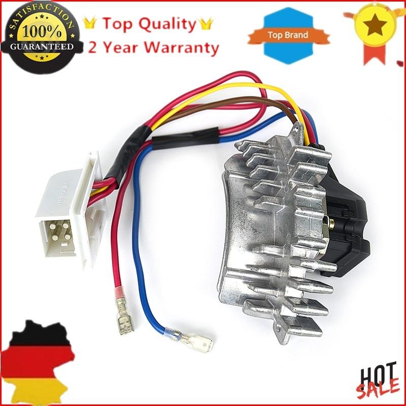 AP02 New  1 X Pcs Blower Motor Regulator Heater Blower Resistor For Mercedes C-Class W202 OE#2028202510, A2028202510  0148350005