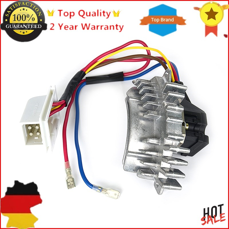 Mercedes Heater Blower Resistor Regulator Control Motor Replacement Hella