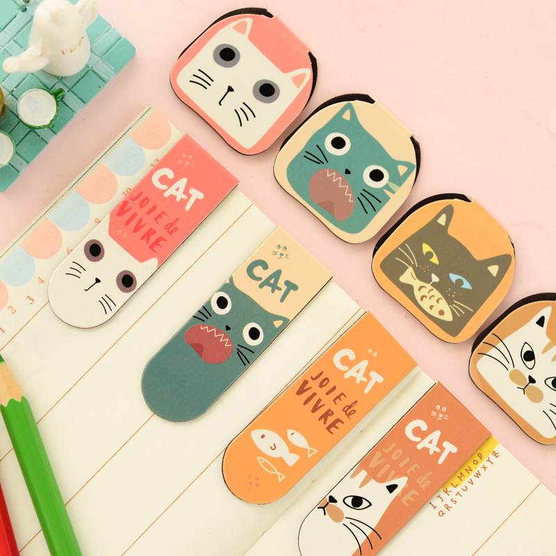 Bookmark Office & School Supplies Sunny Unicorn Bookmarks Magnetic Girls Kawaii Bookmarks For Book Paper Files Organiser Office School Supplies Creative Staitonery