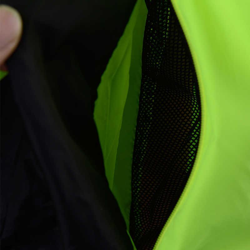 ROCKBROS Tahan Angin Bersepeda Jersey Pria Jaket Cepat Kering Bernapas Sepeda Mantel Hujan MTB Jersey Motorcross Bersepeda Pakaian Kemeja