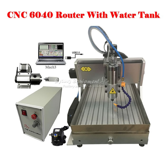 CNC 6040 with water tank (7)