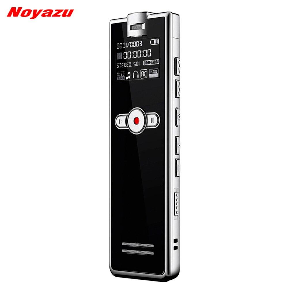 лучшая цена Noyazu F2 Fast Charging 8GB Stereo Recording Digital Audio Voice Recorder Noise Reduction Professional Dictaphone Mp3 Player