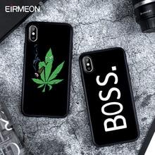 Caso fosco Para o iphone X XS Max XR 5 5S SE 6 6 S Plus 7 8 Plus TPU Macio silício Abstrato Preto Coque Capa Para iPhone XS Caso Max