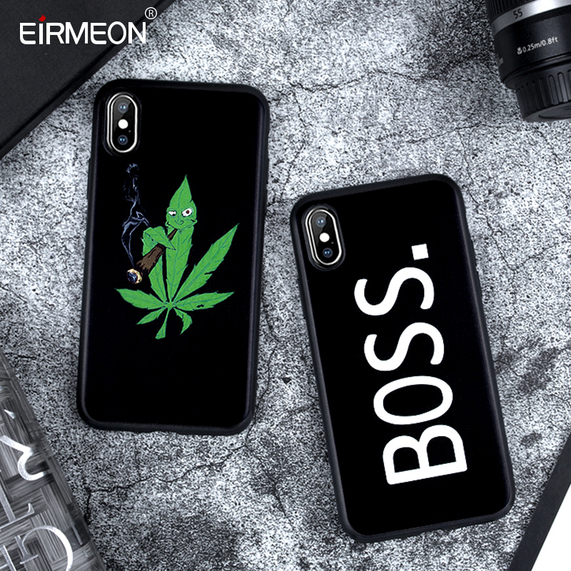 Matte Case For iPhone X XS Max XR 5 5S SE 6 6S Plus 7 8 Plus Soft TPU Silicon Black Abstract Cover Coque For iPhone XS Max Case-in Fitted Cases from Cellphones & Telecommunications