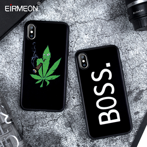 Image 1 - Matte Case For iPhone X XS Max XR 5 5S SE 6 6S Plus 7 8 Plus Soft TPU Silicon Black Abstract Cover Coque For iPhone XS Max Case