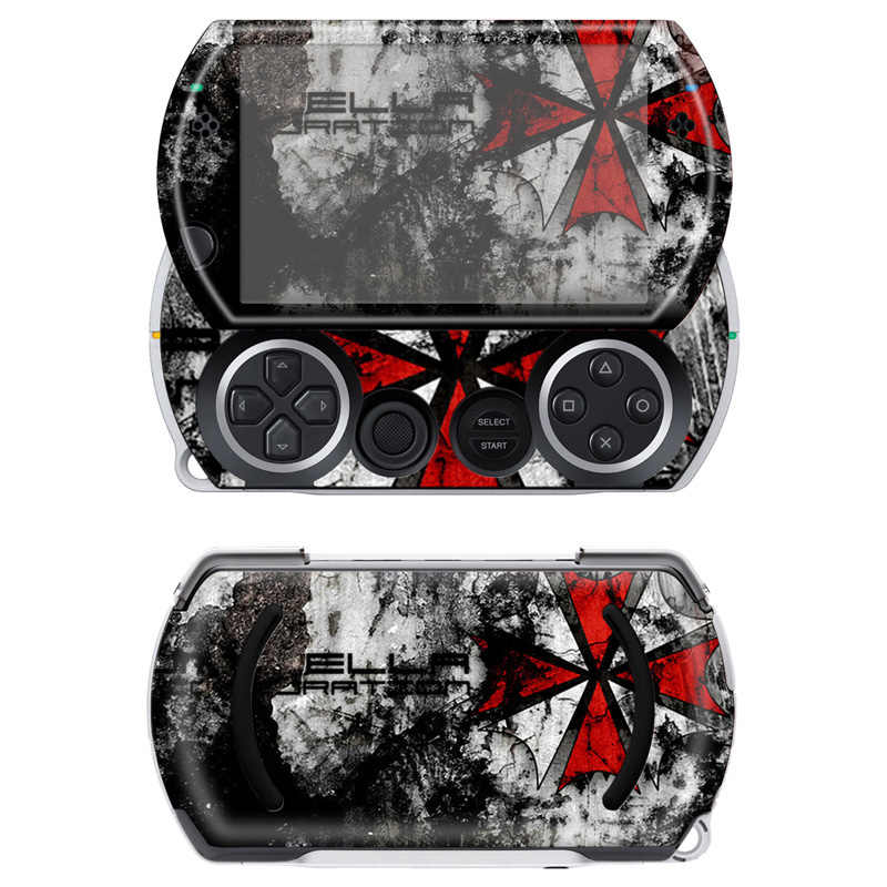 Free drop shipping cool vinyl decal protactive skin sticker for Sony PSP Go  #TN-PGO-554