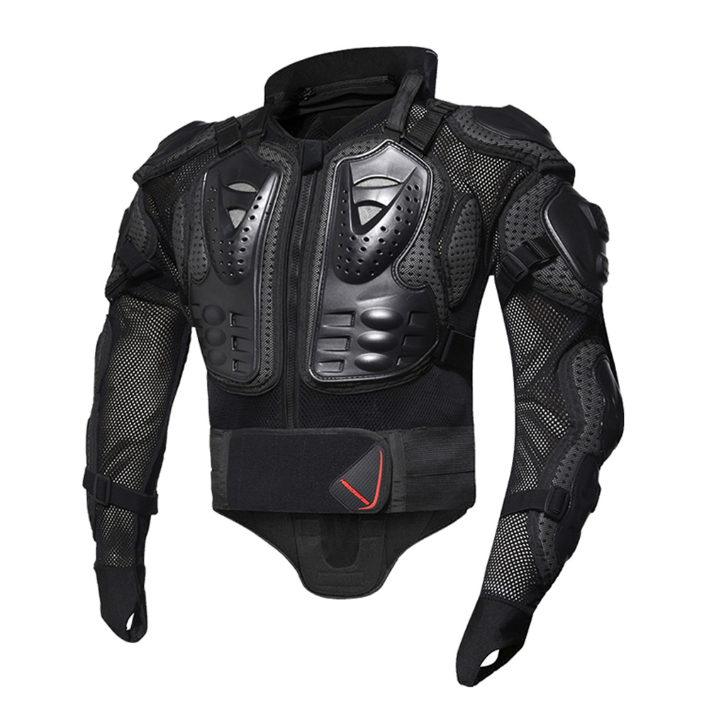 HEROBIKER moto vestes moto armure course corps protecteur veste Motocross moto équipement de protection + cou protecteur - 3