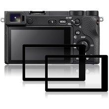 Debous Защитные пленки для sony A6500 ILCE-6400 sony A6400 черная рамка закаленное стекло DSLR цифровая камера пленка крышка(2 упаковки