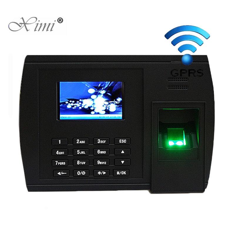 ZK biométrico huella dactilar tiempo asistencia XM228 GPRS TCP/IP reloj Web tiempo huella digital tiempo grabadora asistencia empleado