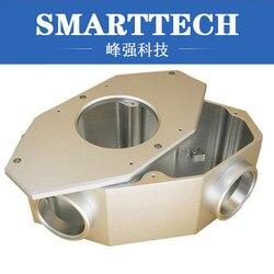 7075 polerowana aluminiowa rama do obróbki CNC