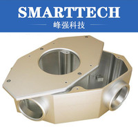 7075 polished Aluminum frame CNC machining