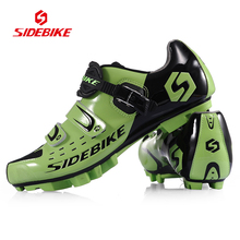 2017 New SIDEBIKE Mountain Street Bike Shoe Triathlon Skilled MTB Bike Shoe Ultralight Biking Sneakers Bicycle
