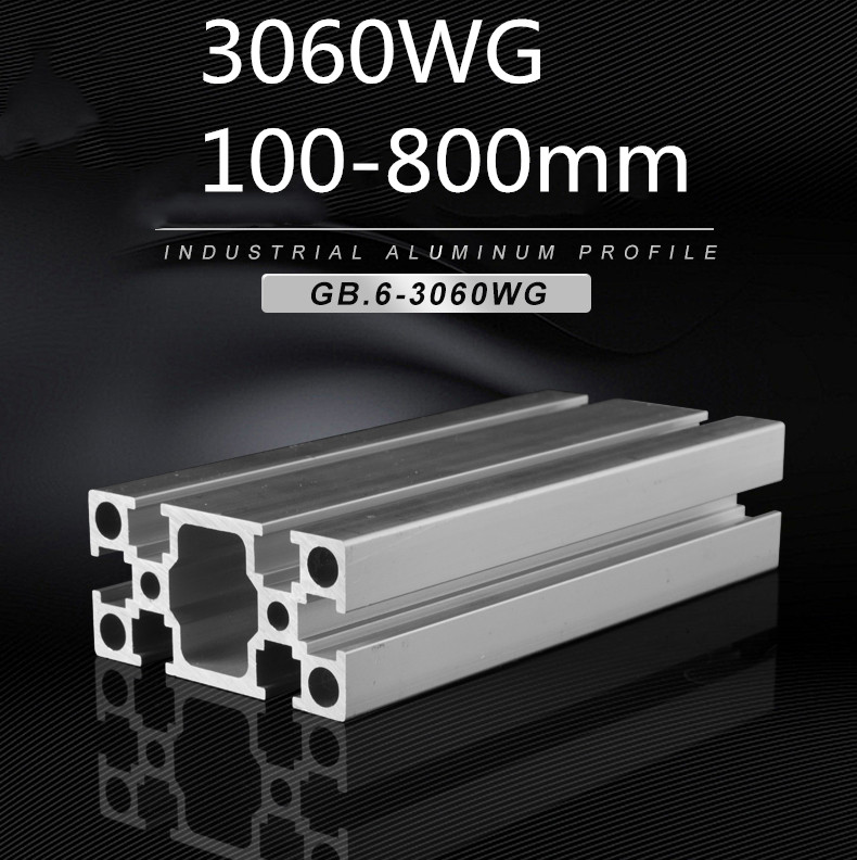 Aluminum Profile European Standard Production Line Profile Aluminum Alloy Profile  Frame Aluminum Profile 3060WG
