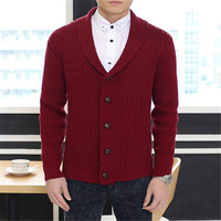Men's business sweater 2017 Autumn Men long sleeve sweater Colourful V collar Men's Cardigan Sweater Male Slim Casual Sweaters