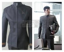 Star Trek James T. Kirk Cosplay Costume Include Hat Coat And Pants