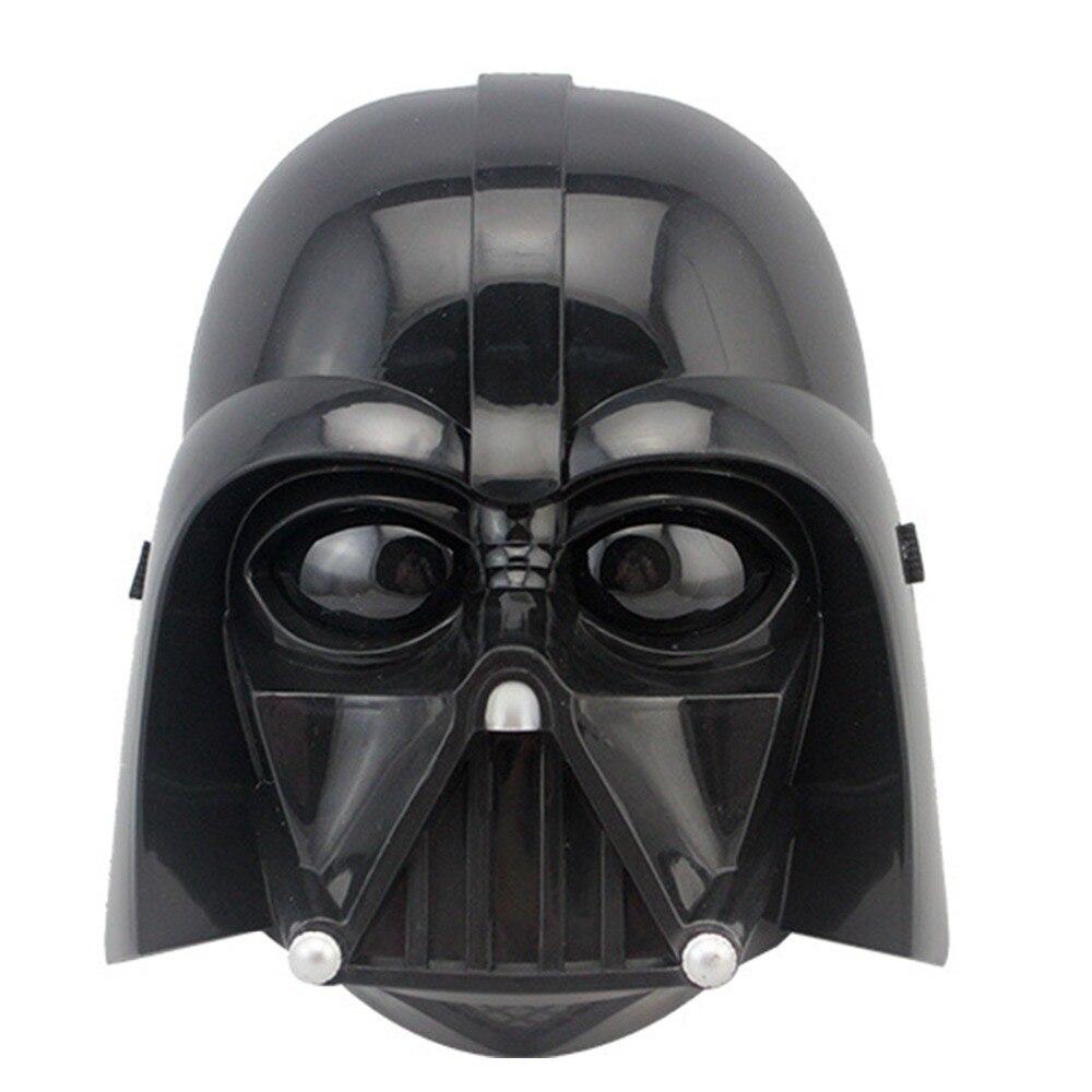 2 Colores Negro Blanco Máscara de Star Wars Casco Fresco Darth Vader - Para fiestas y celebraciones - foto 4