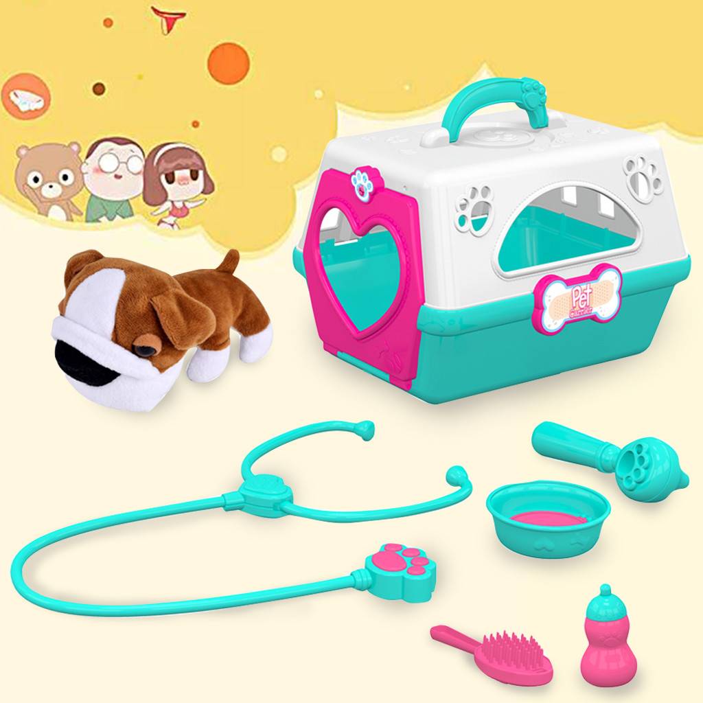 Brain Game 2019 Top Adorable Plush Puppy For Role Play Fun Interactive Pet Carrier  Toy Gift 5.14