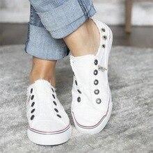 Women's size Flat- Sneakers Women Canvas Shoes Woman Fashion