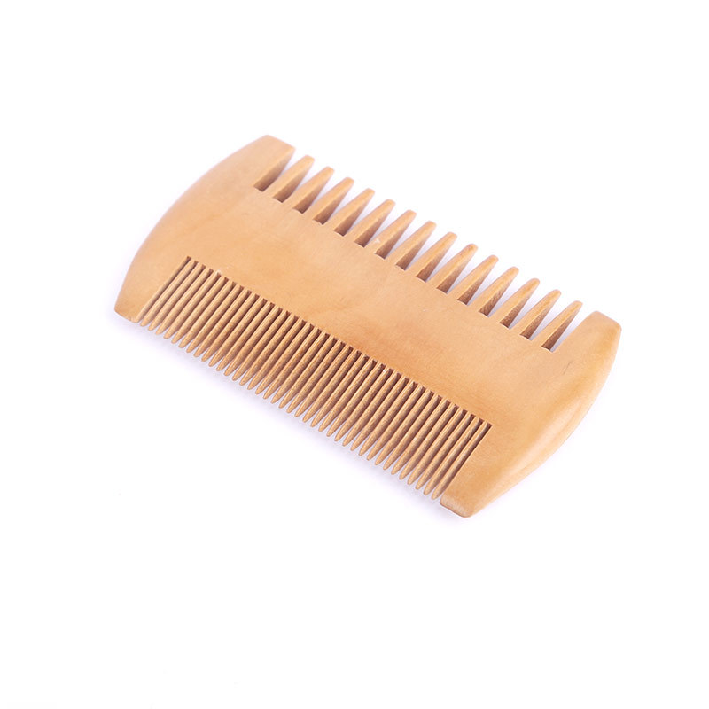 New Pocket Wooden Comb Natural Sandal Wood Double-sided Wide And Narrow Tooth Combs Hair Styling Tool