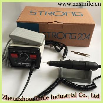 Korea Original Strong 204+102L Dental Micromotor/Micro Motor/Jevelry Beauty Wood Carving Machine 110V