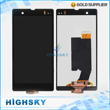 Replacement Display For Sony Xperia Z L36h LCD LT36 L36 C6602 C6603  + Touch Screen Digitizer Assembly 1 Piece Free Shipping