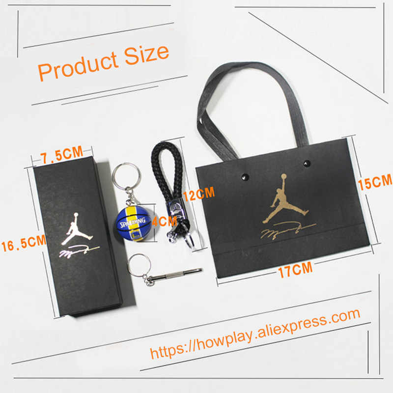 Howplay Basketball Model Keychain Pendant Car Bag Fan Boyfriend Creative Birthday Gift For Air Jordan
