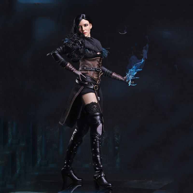 1/6 FS011 The Witcher 3 Wild Hunt Yennefer sorcière femme ensemble complet figurine d'action pour Collections cadeaux jouets