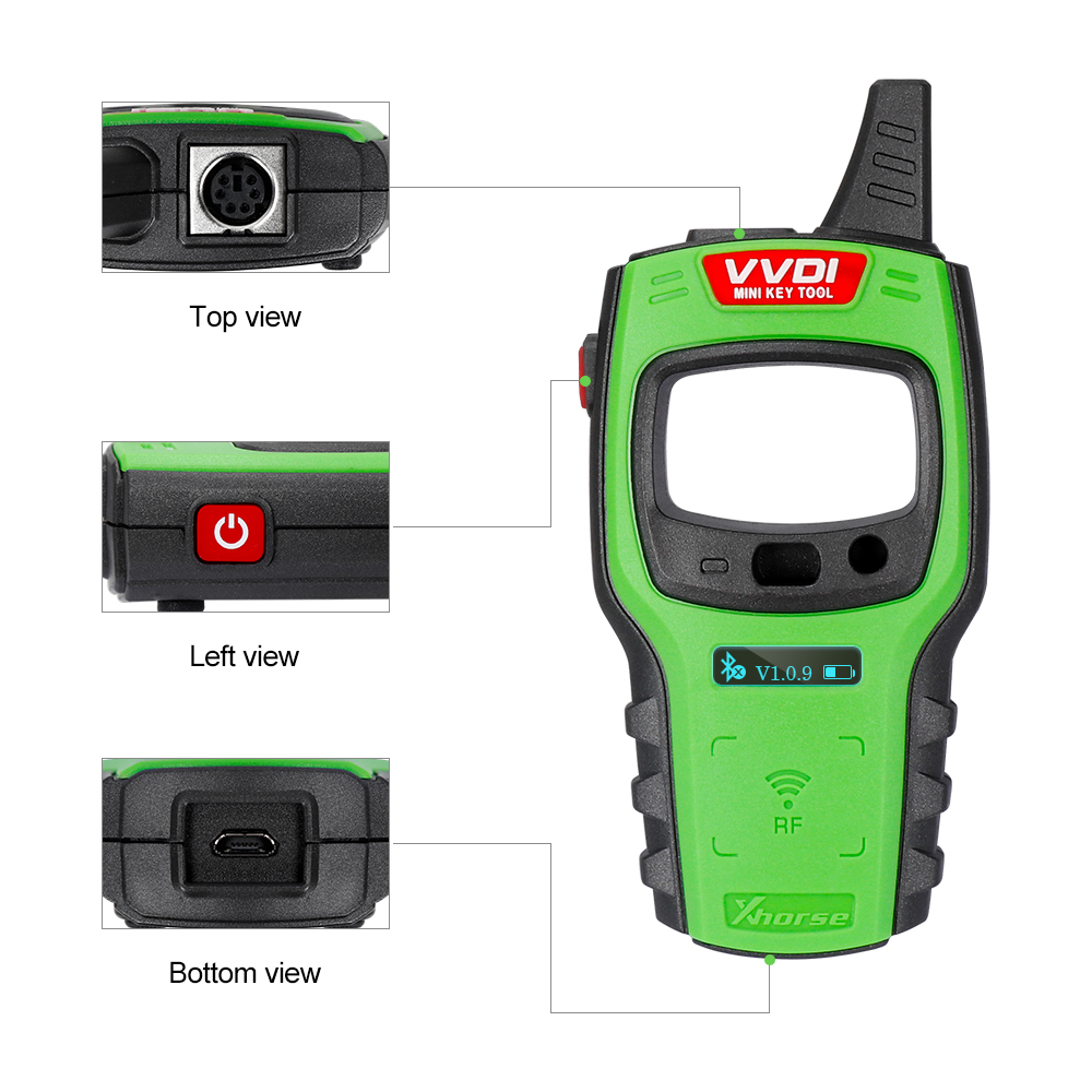 Image 4 - OBD2 Xhorse VVDI Mini Key Tool Remote Key Programmer Support IOS and Android VVDI Key Tool With Free 96bit 48 Clone function-in Auto Key Programmers from Automobiles & Motorcycles
