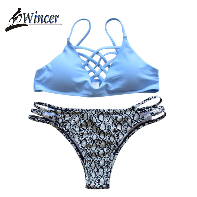 <font><b>2018</b></font> <font><b>Swimwear</b></font> <font><b>Women</b></font> <font><b>Bikinis</b></font> Set Top <font><b>Sexy</b></font> <font><b>Halter</b></font> Swimsuit Set Push Up Bathing Suit Biquini <font><b>Bikinis</b></font> Lady Swimsuit <font><b>Brazilian</b></font> <font><b>Bikini</b></font> image