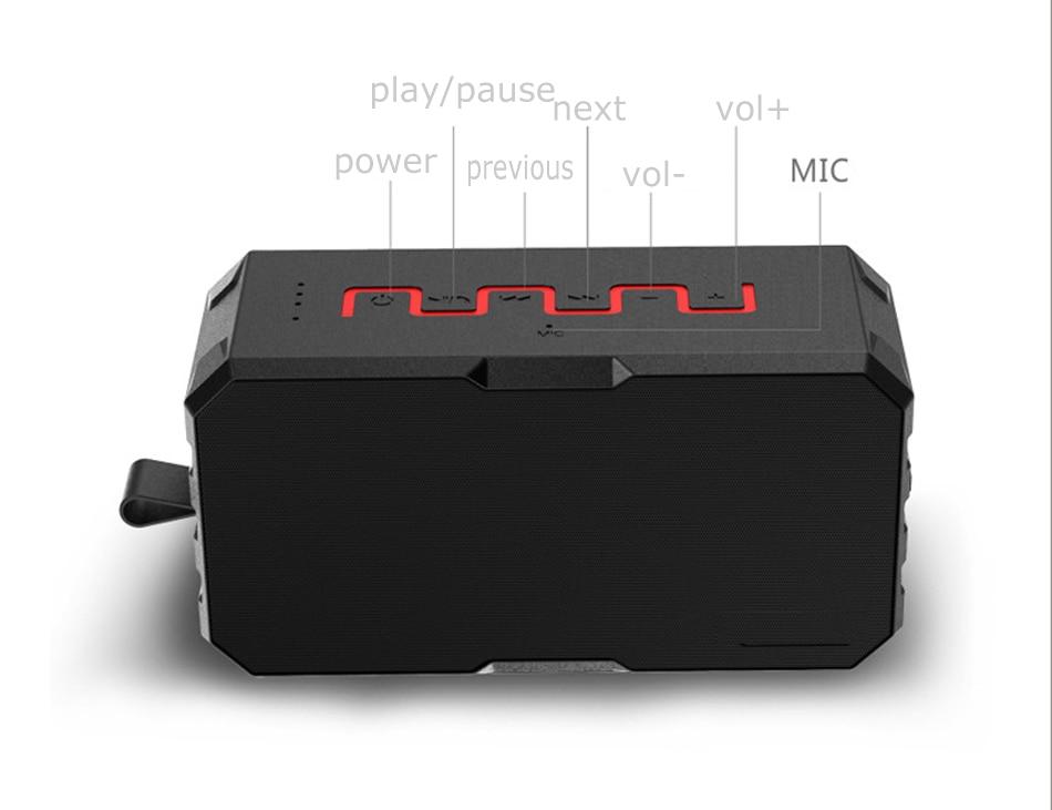 Zuczug portátil IP67 impermeable al aire libre inalámbrico - Audio y video portátil - foto 3