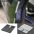 Door Edge Guards Trim Molding Protection Strip Scratch Protector Car Crash Barriers Door Guard Collision For All Car 1set