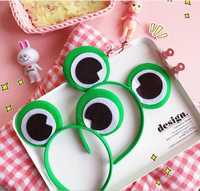 New arrival women's frog ears hairbands party girl's headband   headwear   hair accessories