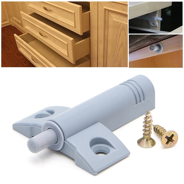 10 X Kitchen Cabinet Door Drawer Soft Quiet Close Closer Damper Buffers +  Screws Door Stops