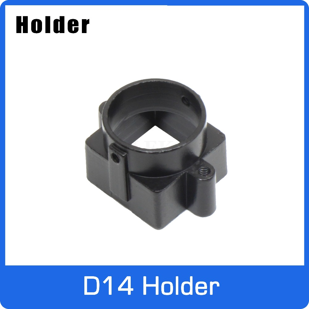 Full Metal D14 Mount Holder For D14 Board Lens Support 20mm Hole Distance PCB Board Module Or CCTV Cmera