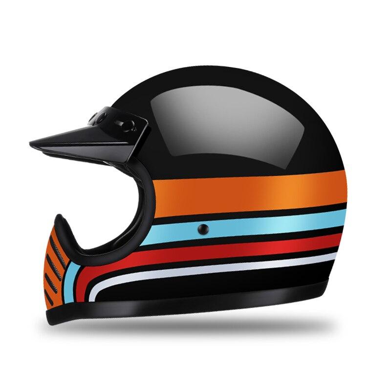 AMZ オートバイヘルメットグラスファイバーモトクロス Casco Capacete モトヘルメットバイクフルフェイスヘルメットオートバイ Dot 認定  グループ上の 自動車 &バイク からの ヘルメット の中 2