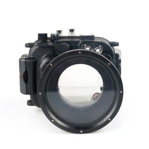 Image 1 - 130FT/40M עבור Canon PowerShot G1 X Mark II מתחת למים עומק צלילה מקרה עבור Canon G1X השני עמיד למים מצלמה דיור כיסוי תיבה