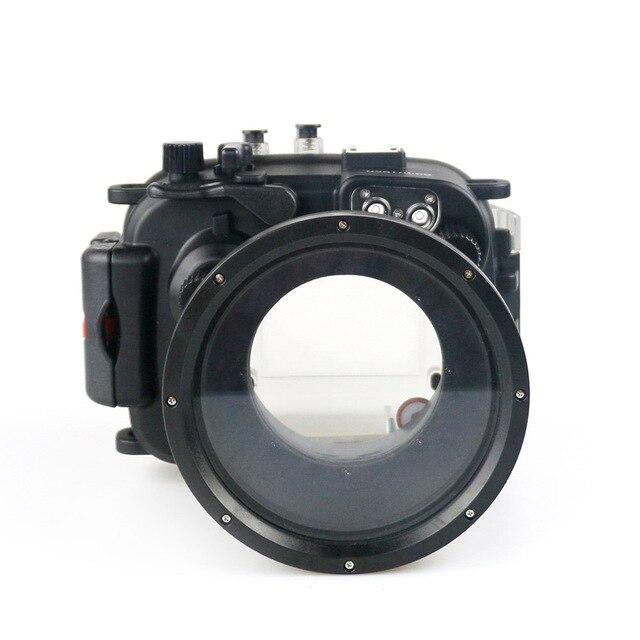 130FT/40M עבור Canon PowerShot G1 X Mark II מתחת למים עומק צלילה מקרה עבור Canon G1X השני עמיד למים מצלמה דיור כיסוי תיבה