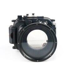 130FT/40M Voor Canon Powershot G1 X Mark Ii Onderwater Diepte Duiken Case Voor Canon G1X Ii Waterdichte camera Behuizing Doos