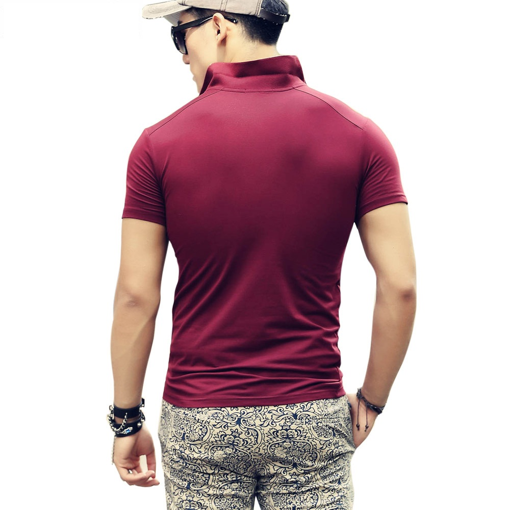 Beswlz-New-Men-s-Tops-Polo-Shirts-Summer-Short-Sleeve-Turn-down-Collar-Cotton-Slim-Classical (4)