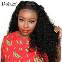 Плотность 250% глубокая вьющиеся шелк база парик бесклеевого человеческих волос парики для Для женщин Шелковый топ парик шнурка естественно